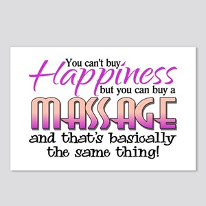 Happiness Massage Postcards (Package of 8)