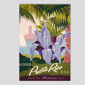 Discover Puerto Rico Postcards (Package of 8)