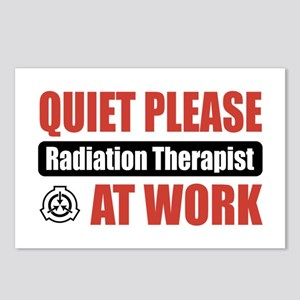 Radiation Therapist Work Postcards (Package of 8)