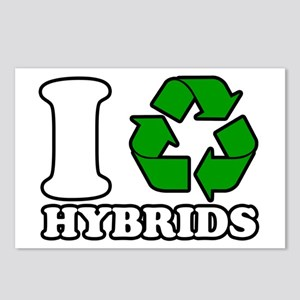 I Heart Hybrids Postcards (Package of 8)