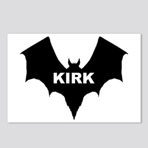 BLACK BAT KIRK Postcards (Package of 8)