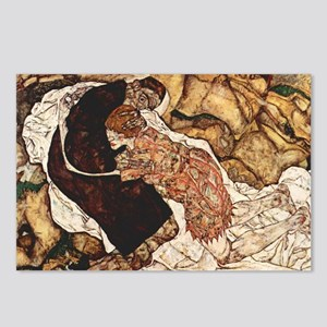 Egon Schiele Death And Th Postcards (Package of 8)