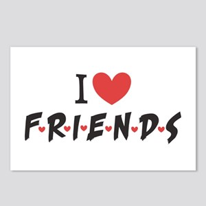 I heart Friends TV Show Postcards (Package of 8)