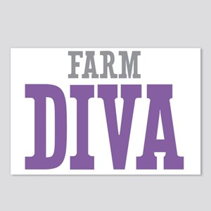Farm DIVA Postcards (Package of 8)