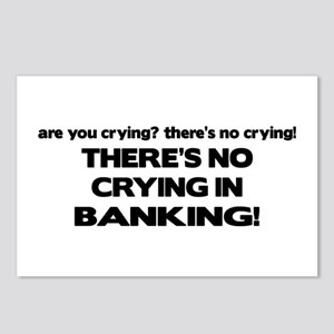 There's No Crying in Banking Postcards (Package of