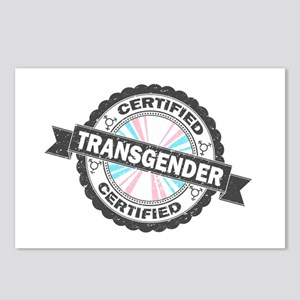 Certified Transgender Sta Postcards (Package of 8)