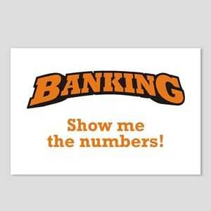 Banking / Numbers Postcards (Package of 8)