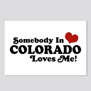 Somebody In Colorado Loves Me Postcards (Package o