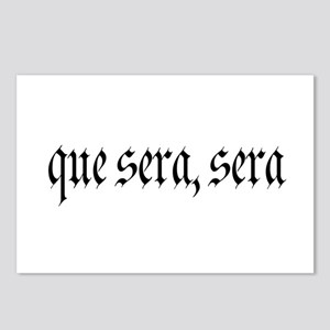 Que Sera Postcards (Package of 8)