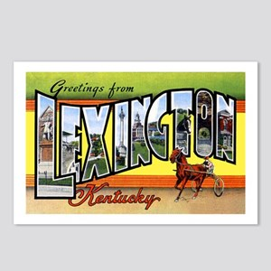 Lexington Kentucky Greetings Postcards (Package of