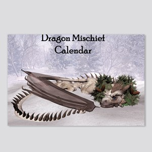 Dragon Mischief 2014 Cale Postcards (Package of 8)