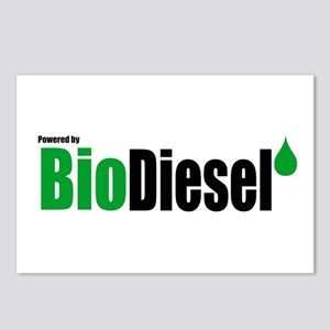Powered By BioDiesel Postcards (Package of 8)