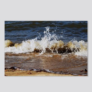 Waves on the Beach Postcards (Package of 8)