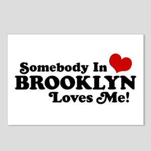 Somebody In Brooklyn Loves Me Postcards (Package o