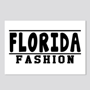 Florida Fashion Designs Postcards (Package of 8)