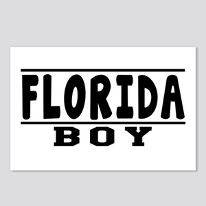 Florida Boy Designs Postcards (Package of 8)