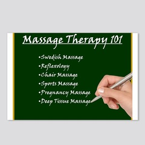 Massage Therapy 101 Postcards (Package of 8)