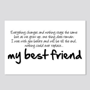 My best friend Postcards (Package of 8)