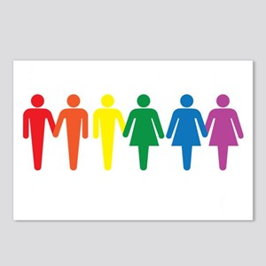 Equal People Equal Love E Postcards (Package of 8)