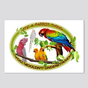 It's a Parrot Thing! Postcards (Package of 8)