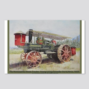 The Minneapolis Steam Tractor Postcards (Package o