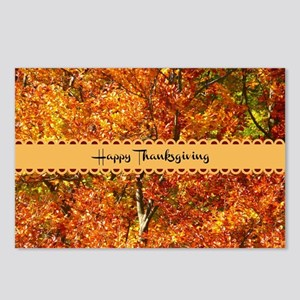 Happy Thanksgiving - Autu Postcards (Package of 8)