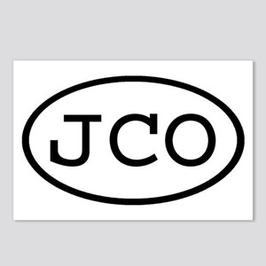 JCO Oval Postcards (Package of 8)