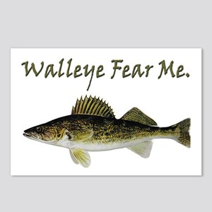 Walleye Fear Me Postcards (Package of 8)