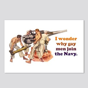 Gay Navy Postcards (Package of 8)