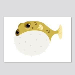 Blow Fish Postcards (Package of 8)