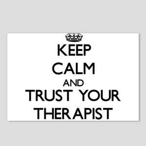 Keep Calm and Trust Your arapist Postcards (Packag