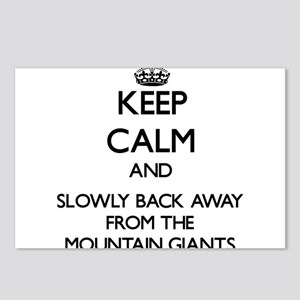 Keep calm and slowly back away from Mountain Giant
