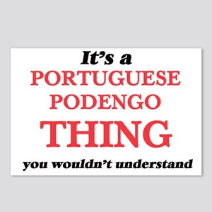 It's a Portuguese Pod Postcards (Package of 8)
