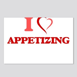 I Love Appetizing Postcards (Package of 8)