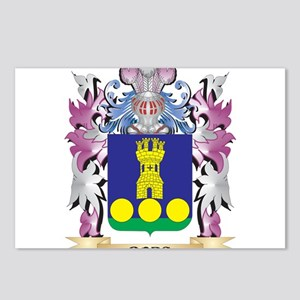 Borg Coat of Arms (Family Postcards (Package of 8)