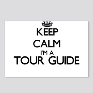Keep calm I'm a Tour Guid Postcards (Package of 8)