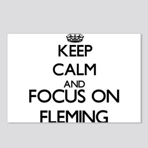 Keep calm and Focus on Fl Postcards (Package of 8)