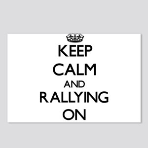 Keep calm and Rallying ON Postcards (Package of 8)