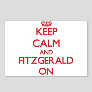 Keep Calm and Fitzgerald Postcards (Package of 8)