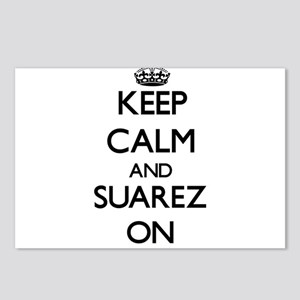 Keep Calm and Suarez ON Postcards (Package of 8)