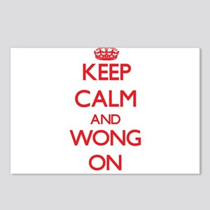 Keep Calm and Wong ON Postcards (Package of 8)