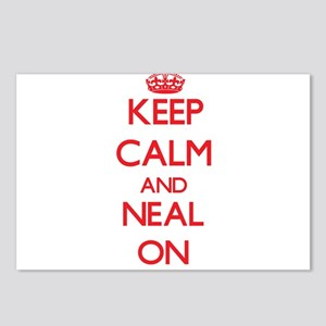 Keep Calm and Neal ON Postcards (Package of 8)