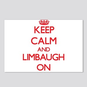 Keep Calm and Limbaugh ON Postcards (Package of 8)