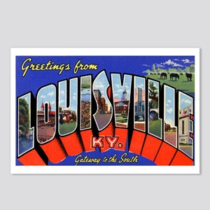 Louisville Kentucky Greetings Postcards (Package o