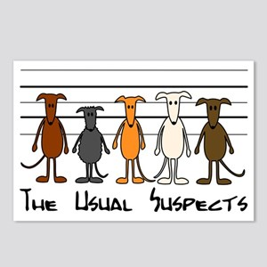 The usual suspects Postcards (Package of 8)