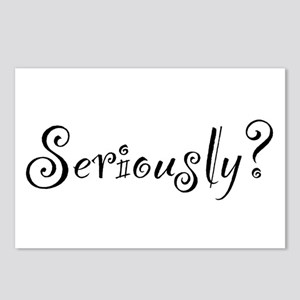 Seriously? Postcards (Package of 8)