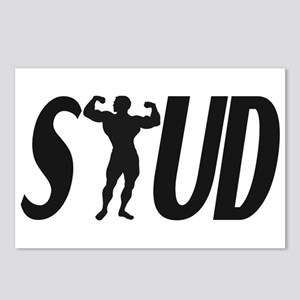 Stud Muscles Postcards (Package of 8)