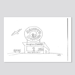 RANDY'S DONUTS Postcards (Package of 8)