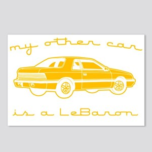 my other car is a lebaron Postcards (Package of 8)