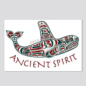 211t AncntSpirit Orca  Postcards (Package of 8)